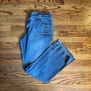 Flared style jeans size 18 by hydraulic